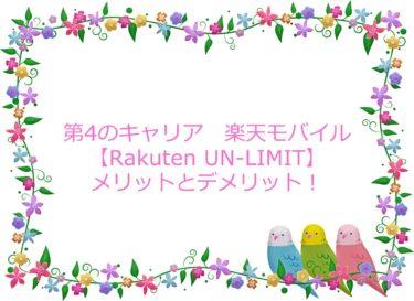 楽天モバイル【Rakuten UN-LIMIT】データ通信が良い改善!メリットとデメリット