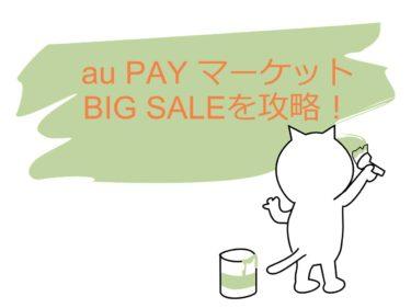 【au PAY マーケット】7/7~7/12のBIG SALEを攻略!購入したものを紹介